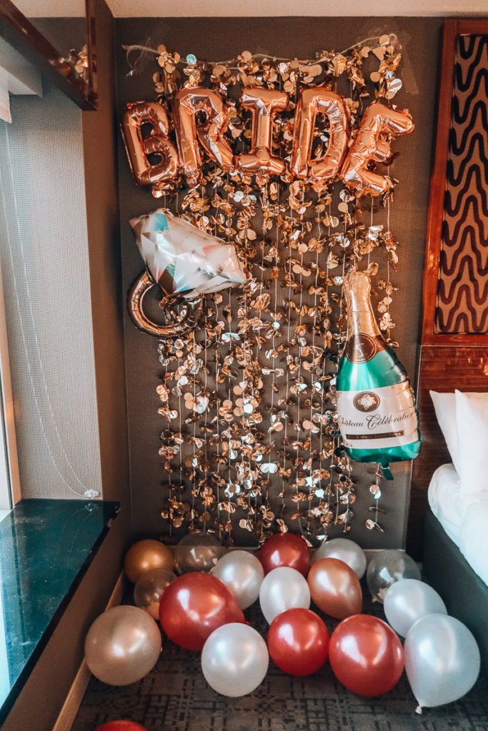 My Bachelorette in Las Vegas | Hotel Room Decor | Audrey Madison sTowe a fashion and lifestyle blogger