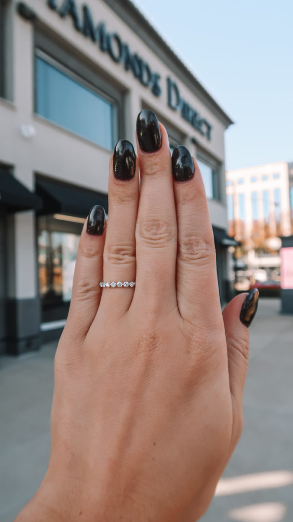 My Wedding Band | Diamond's Direct | Audrey Madison Stowe a fashion and lifestyle blogger