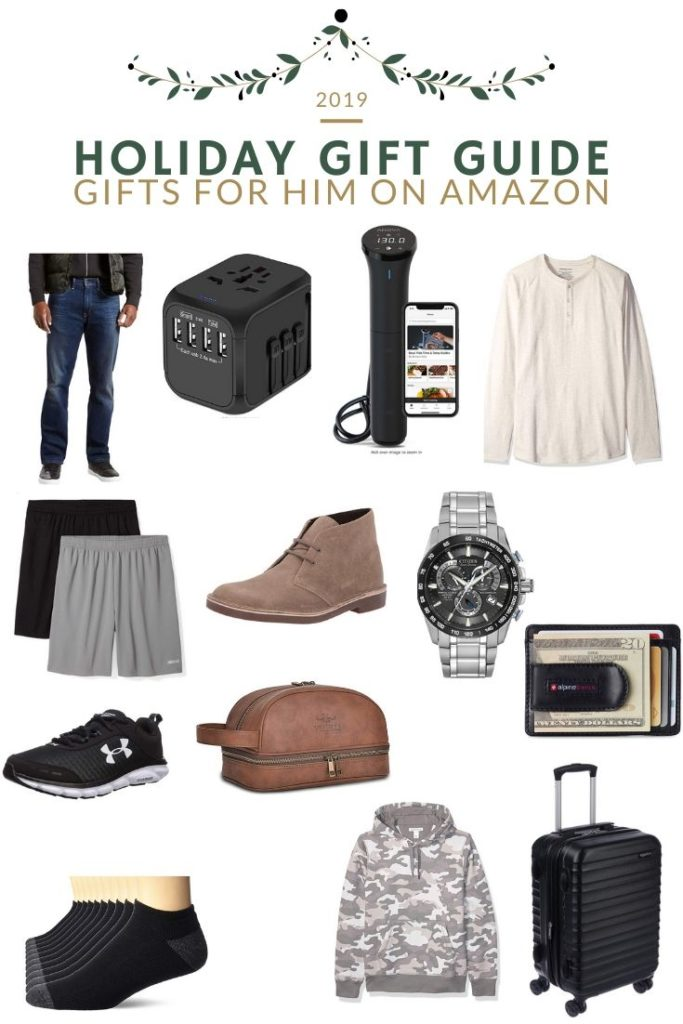 Gifts For Him From Amazon | Audrey Madison Stowe a fashion and lifestyle blogger