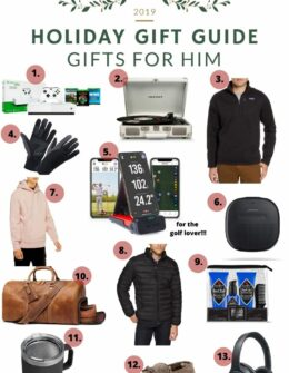 Gift Guide For Him | Mens Gift Guide 2019 | Audrey Madison Stowea fashion and lifestyle blogger