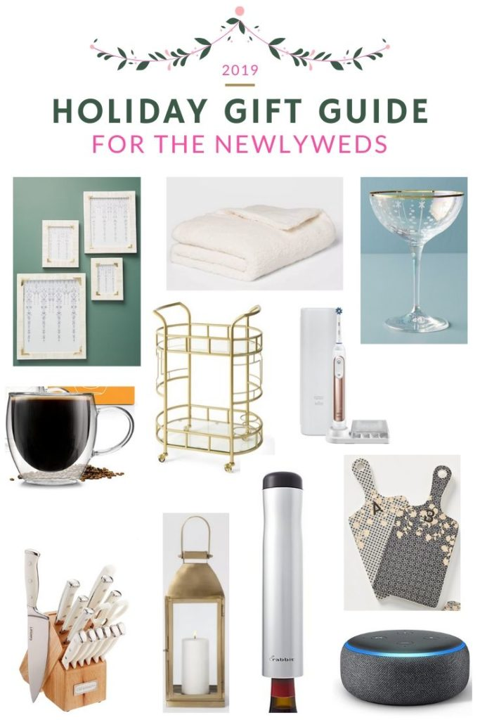 Holiday Gift Ideas for Newlyweds | Audrey Madison Stowe a fashion and lifestyle blogger