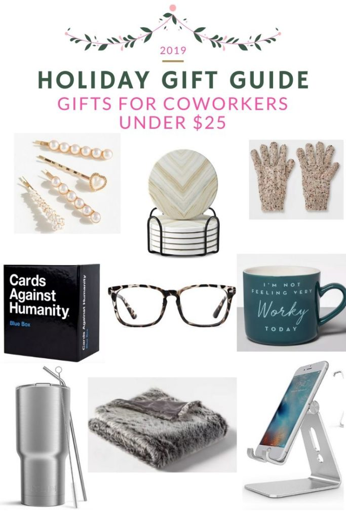 Gifts For Coworkers Under $25 | Holiday Gift Guide | Audrey Madison Stowe a fashion and lifestyle blogger