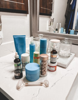 Winter Skincare That's Working For Me | Audrey Madison Stowe a fashion and lifestyle blogger