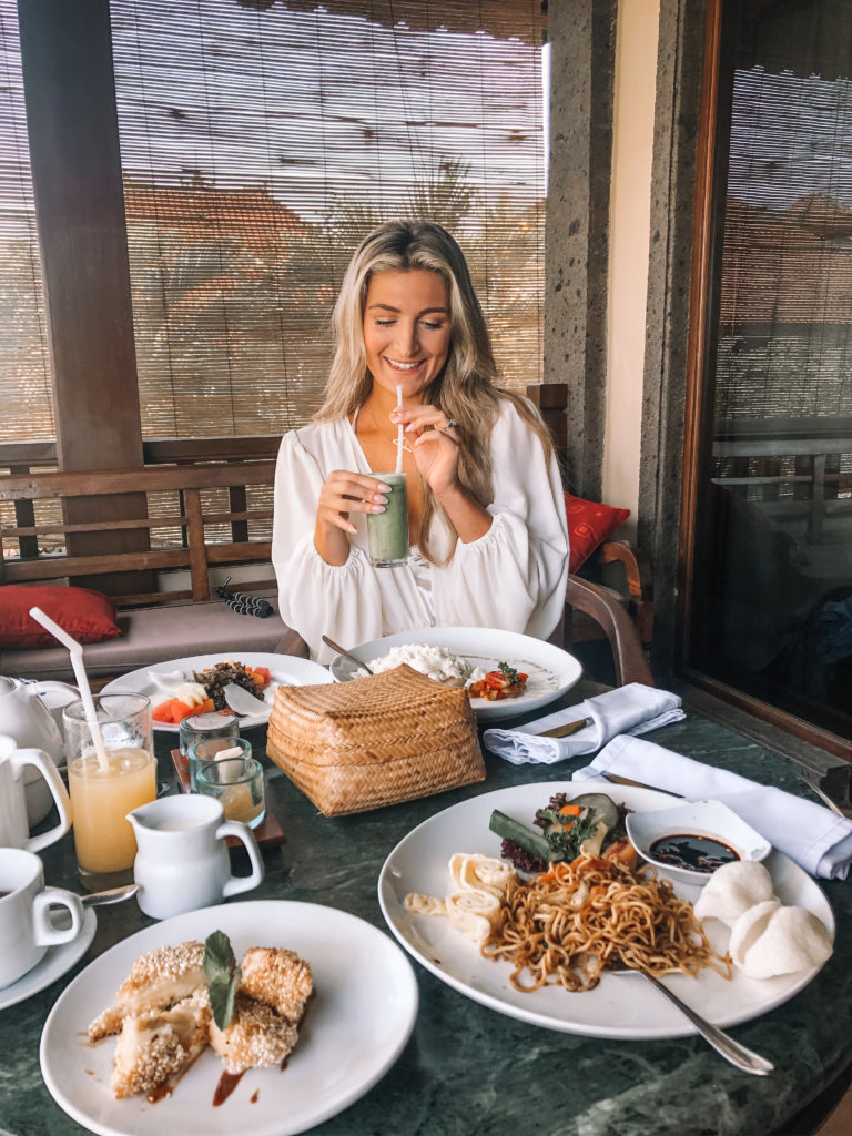 Bali Breakfasts | Honeymooning in Bali