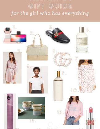 Valentine's Gift Guide For the Girl who Has Everything | Audrey Madison Stowe a fashion and lifestyle blogger
