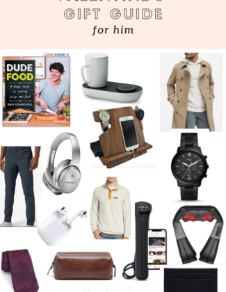 Valentine's Gift Guide For Him | Valentine's Day Gift ideas | Audrey Madison Stowe a fashion and lifestyle blogger