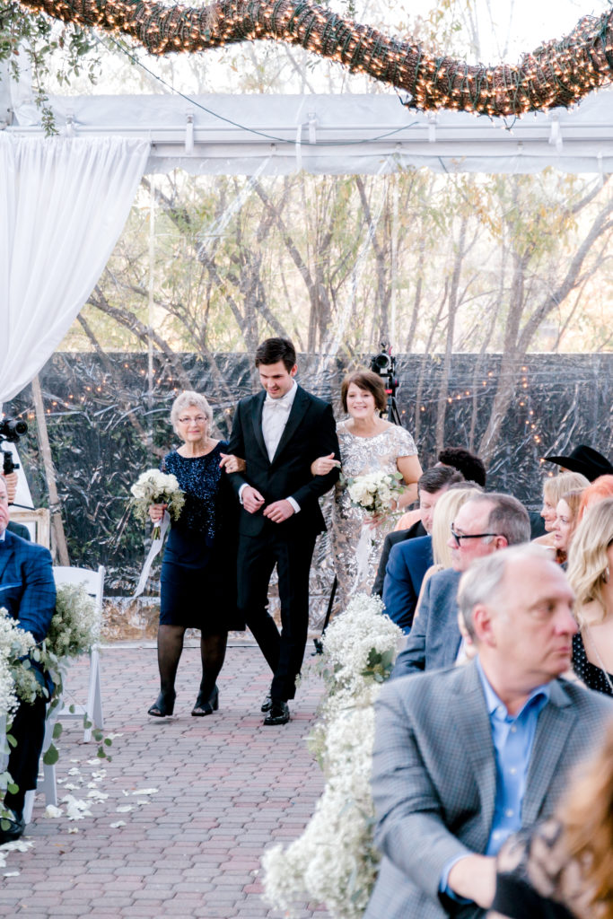 Our Winter Wedding Ceremony | Audrey Madison Stowe a fashion and lifestyle blogger