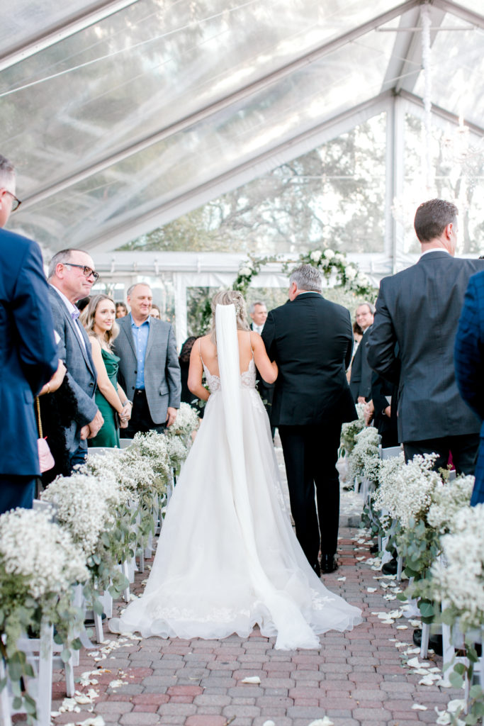 Our First Look Down The Aisle   Why we Didn't do a first look   Audrey Madison Stowe a fashion and lifestyle blogger