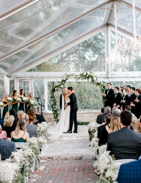 Our Winter Wedding Ceremony   Audrey Madison Stowe a fashion and lifestyle blogger