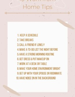 10 Work From Home Tips for Productivity | Audrey Madison Stowe a fashion and lifestyle blogger
