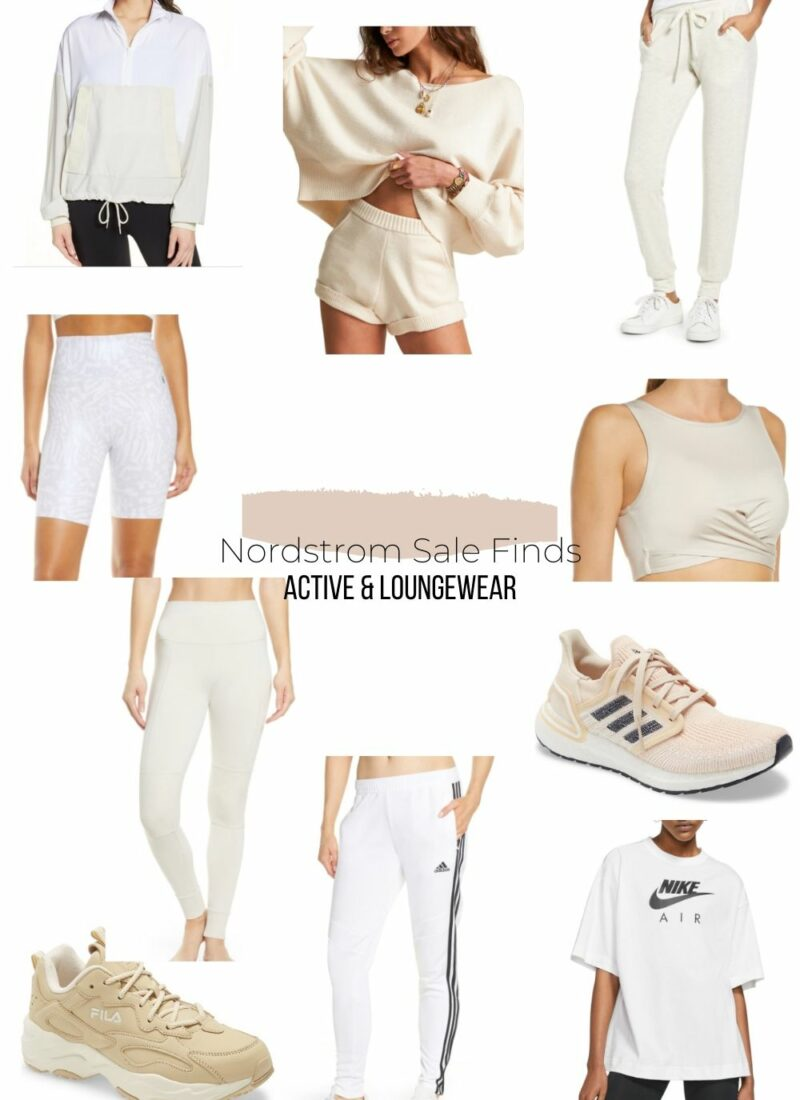 Nordstrom Sale Finds 2020 | Active & Loungewear | Audrey Madison Stowe a fashion and lifestyle blogger