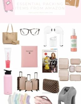 Essential Packing Items From Amazon | Packing Tips | Audrey Madison Stowe a fashion and lifestyle blogger