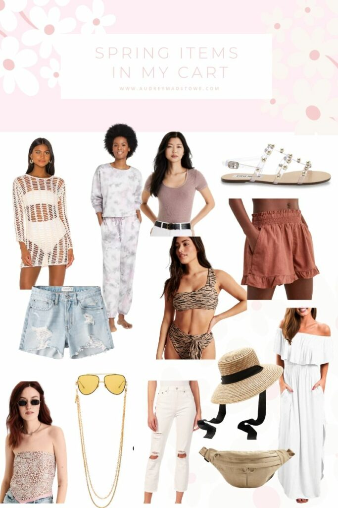 Spring Items in my Cart | Spring 2020 Trending Items | audrey madison stowe a fashion and lifestyle blogger