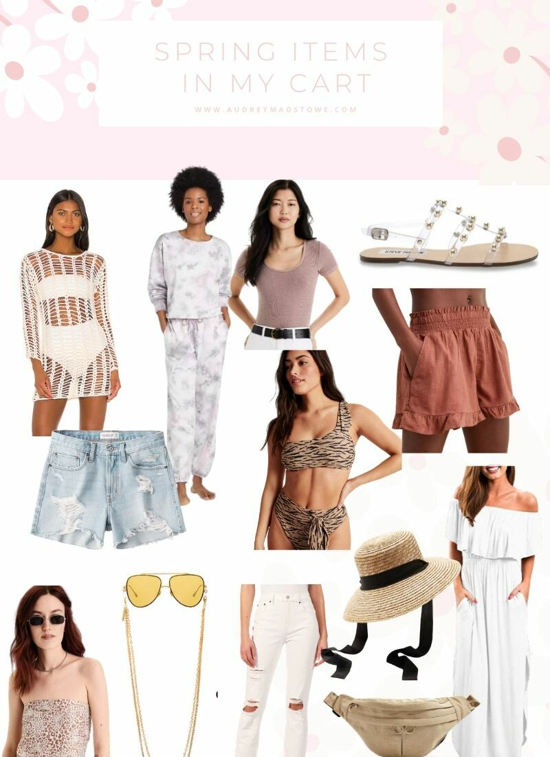 Spring Items In My Cart