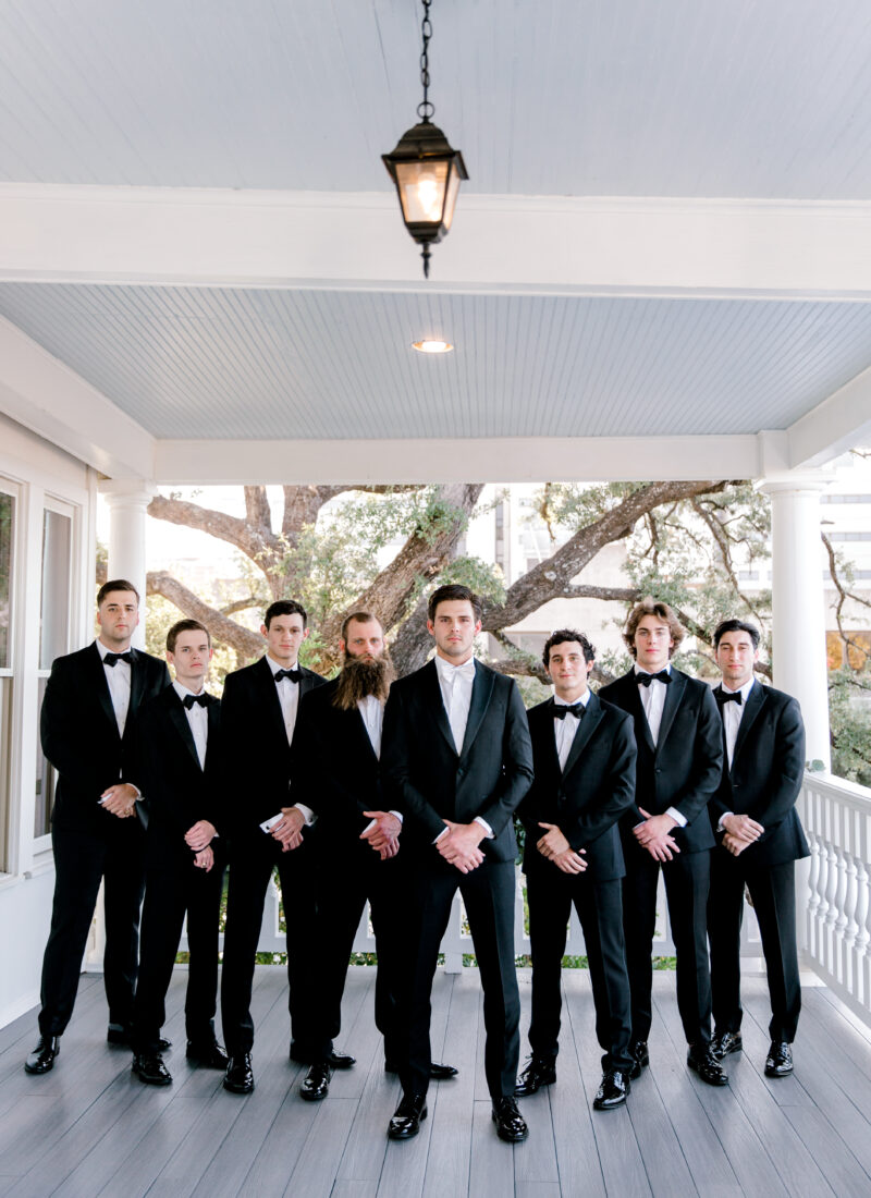 Groom & Groomsmen Tuxes