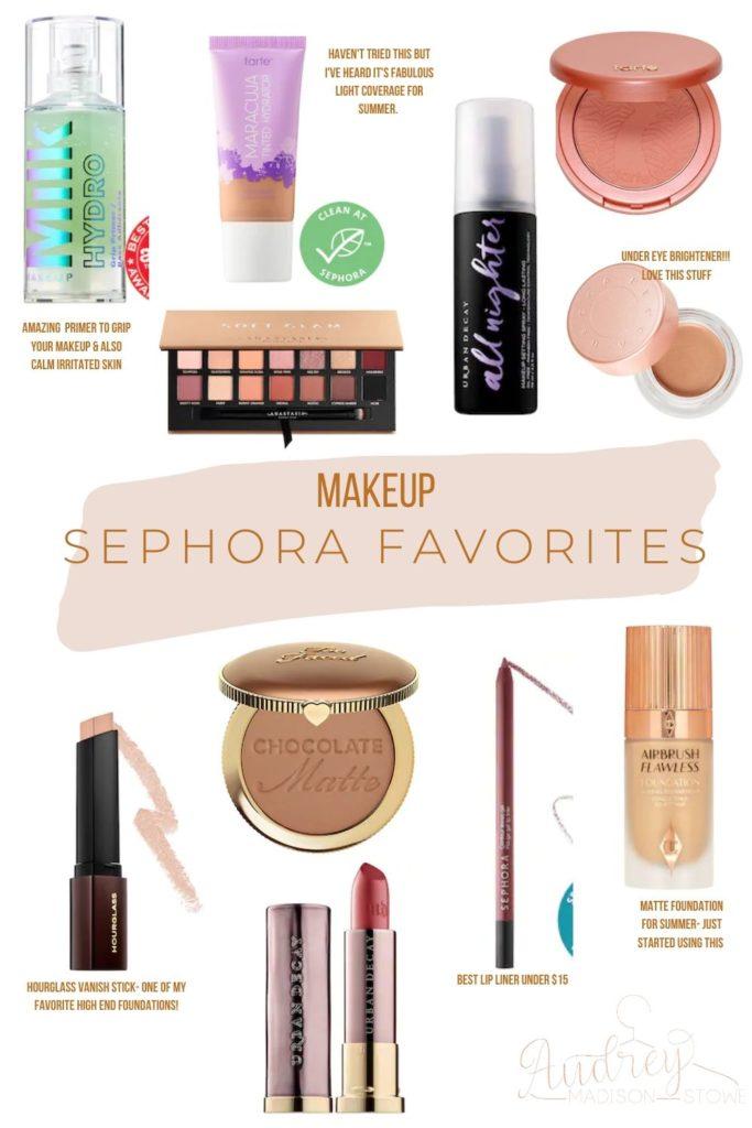 Spring Sephora Sale! | Makeup Sephora Favorites | Audrey Madison Stowe