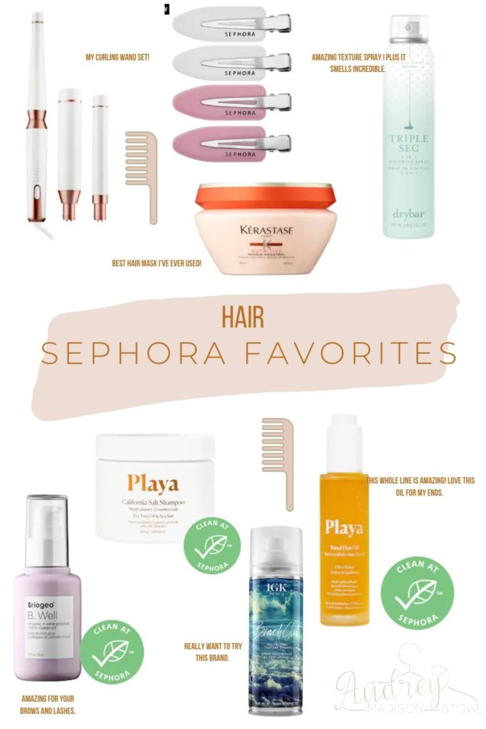 Spring Sephora Sale! | Hair Sephora Favorites | Audrey Madison Stowe