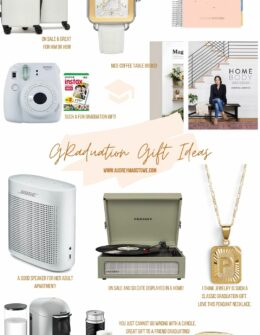 Graduation Gift Ideas 2020   Gifts for all price points   Audrey Madison Stowe a fashion and lifestyle blogger