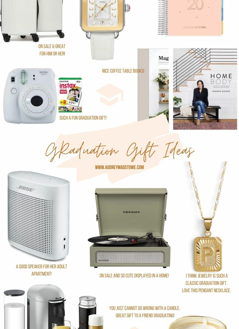 Graduation Gift Ideas 2020 | Gifts for all price points | Audrey Madison Stowe a fashion and lifestyle blogger