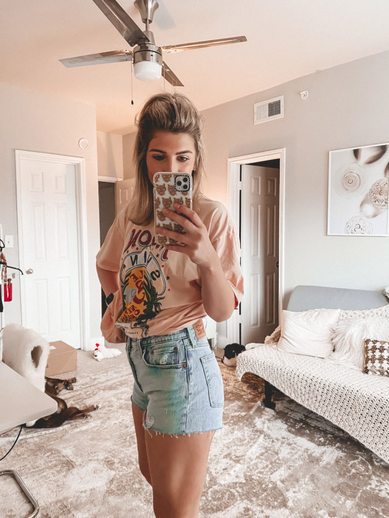 Top 4 Pairs of Denim Shorts I'm Currently Loving   Audrey Madison Stowe a fashion and lifestyle blogger