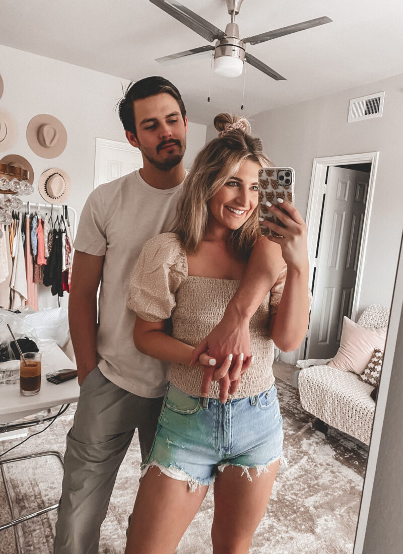 His & Her Try-On | Husband and Wife Outfits on Sale | Audrey Madison Stowe a fashion and lifestyle blogger