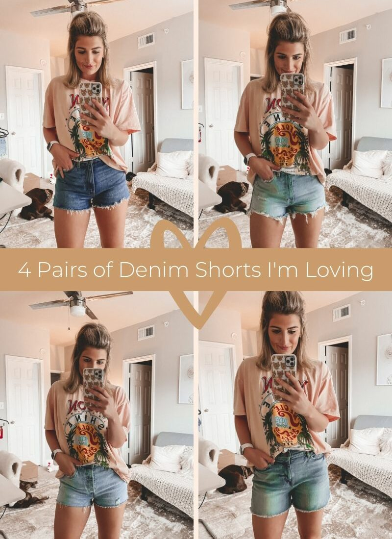 Top 4 Pairs of Denim Shorts I'm Currently Loving