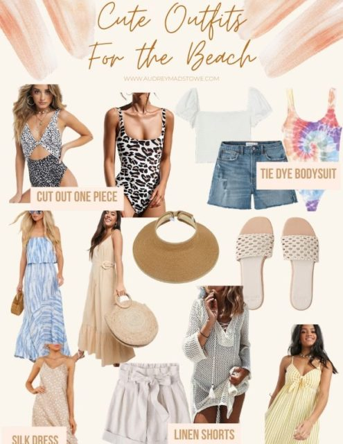 What to Wear to The Beach   Beach outfit Ideas   Audrey Madison Stowe a fashion and lifestyle blogger