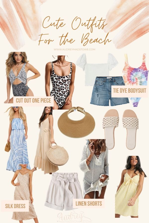 What To Wear To The Beach: 3 Outfit Ideas