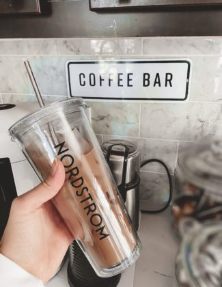 Chocolate Sea Salt Ice Coffee Recipe With Nordstrom | Nordstrom Coffee Recipe