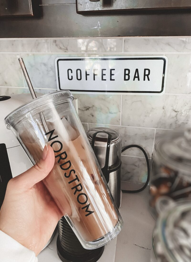 Chocolate Sea Salt Iced Coffee With Nordstrom
