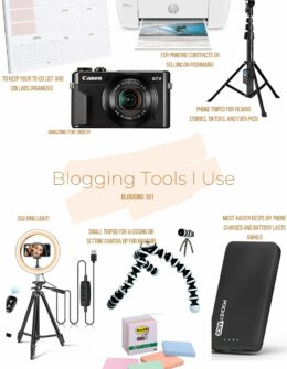 The Blogging Tools I Use on a Daily Basis | Blogging 101 tips | Audrey Stowe