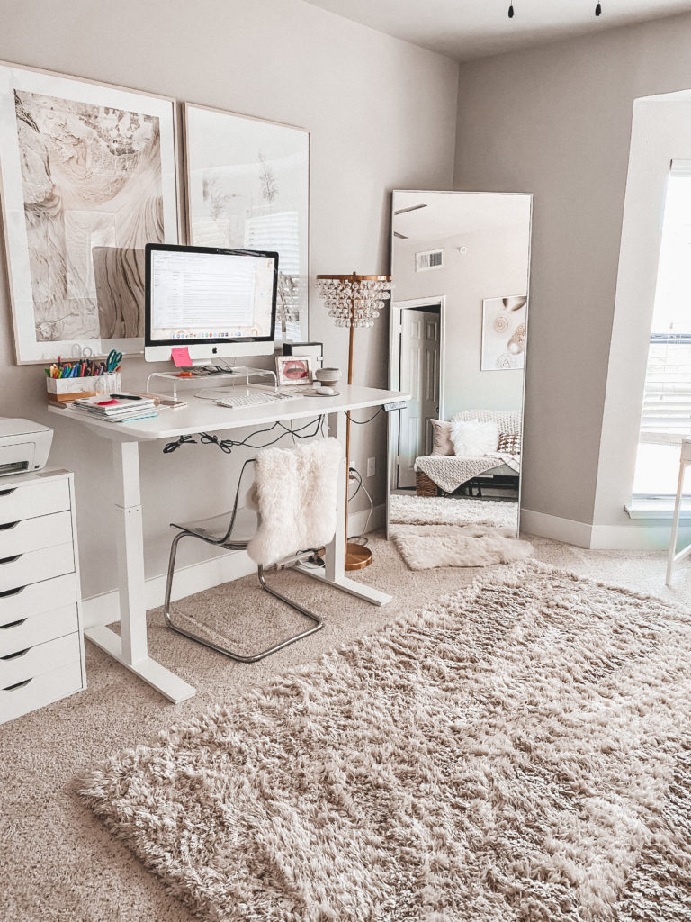 How A New Rug Can Change Up Your Whole Space | Home Office | Audrey Madison Stowe a fashion and lifestyle blogger