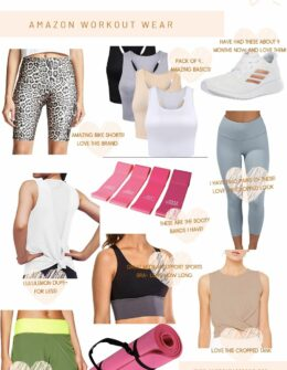 Amazon Workout Wear | Summer Workout clothes | Audrey Madison Stowe a fashion and lifestyle blogger