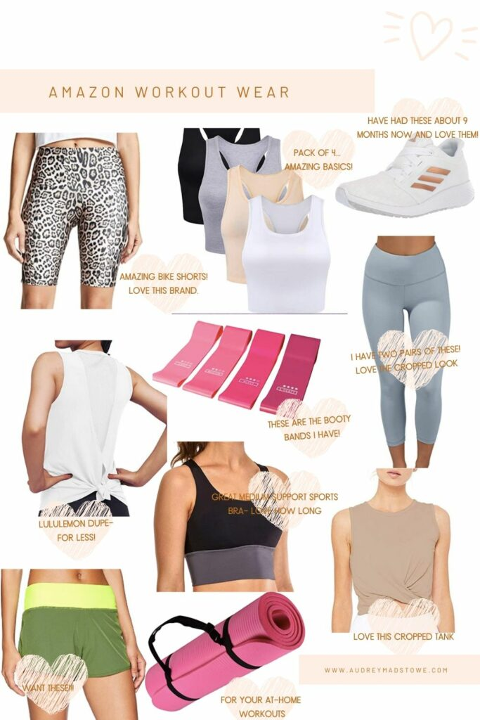 Amazon Workout Wear   Summer Workout clothes   Audrey Madison Stowe a fashion and lifestyle blogger