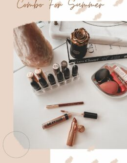 Nude Pink Summer Lip Combo   Beauty obsessed   Audrey Madison Stowe a fashion and lifestyle blogger