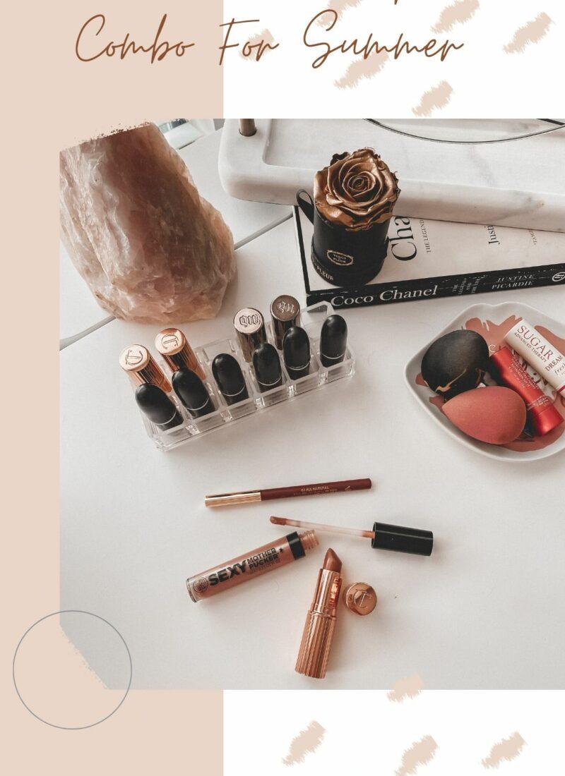 Nude Pink Summer Lip Combo