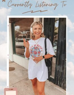 Podcasts I'm Currently Listening To   Summer Podcasts   Audrey Madison Stowe a fashion and lifestyle blogger