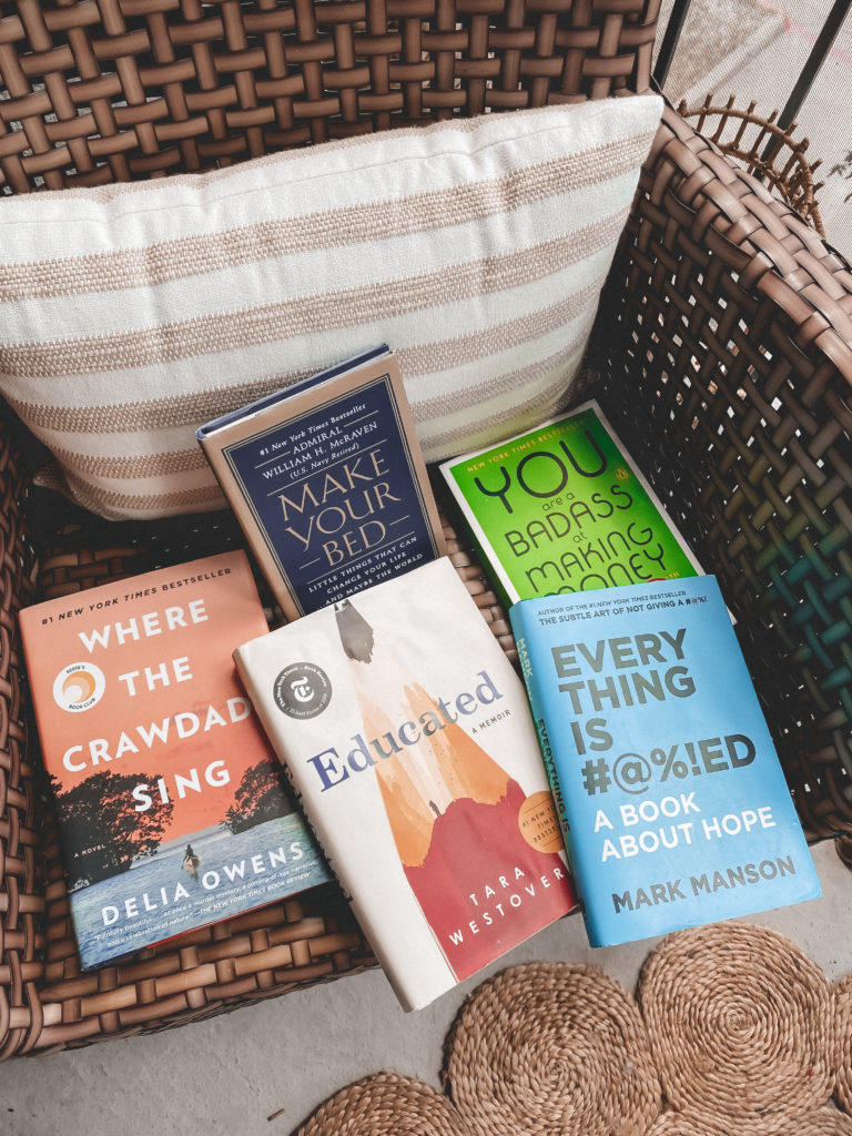 Spring Book Review | The Books I Read During Quarantine | Audrey Madison Stowe a fashion and lifestyle blogger