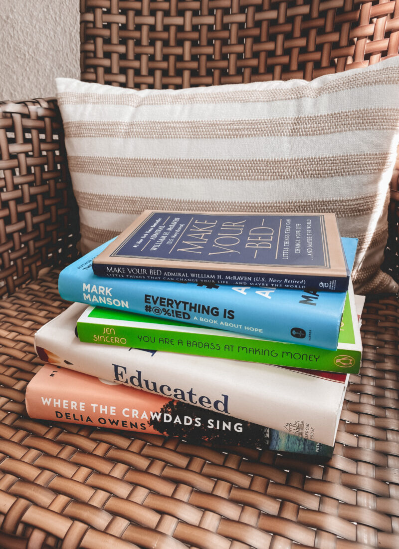 Spring Book Review   The Books I Read During Quarantine   Audrey Madison Stowe a fashion and lifestyle blogger