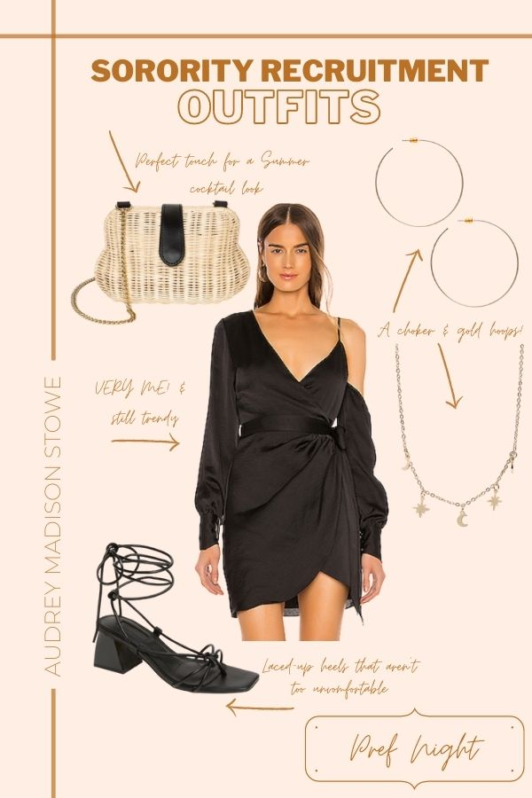 Sorority Recruitment Outfit Ideas 2020 | Audrey Madison Stowe