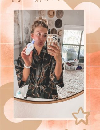 Post-Workout Skincare   Easy Basic Skincare   Audrey Madison Stowe a fashion and lifestyle blogger
