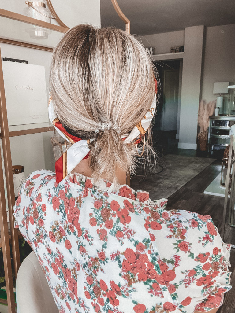 low bun with short hair | Audrey Stowe