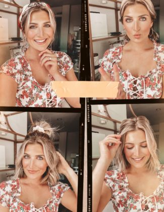 4 Short Hair Summer Hairstyles | Hair inspo | Audrey Madison Stowe a fashion and lifestyle blogger
