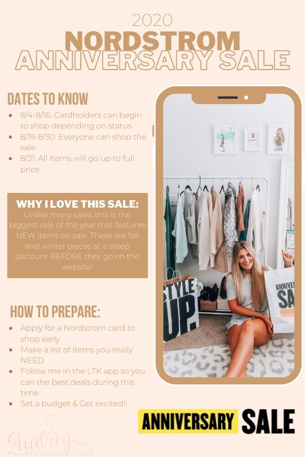 What You Need To Know About 2020 Nordstrom Anniversary Sale