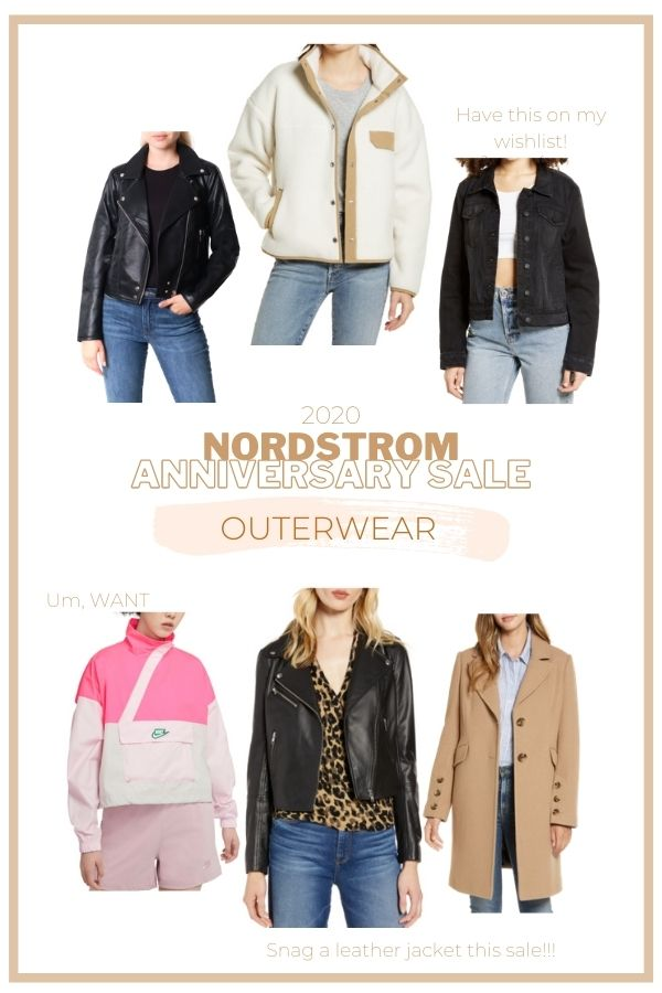 Nordstrom Anniversary Sale Outerwear Picks 2020 + The best items from the NSALE / Audrey Madison Stowe a fashion and lifestyle blogger