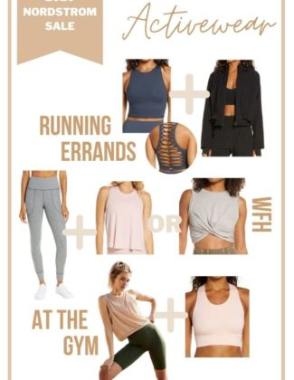 Activewear Style Guide for The 2020 Nordstrom Anniversary Sale | Audrey Madison Stowe a fashion and lifestyle blogger