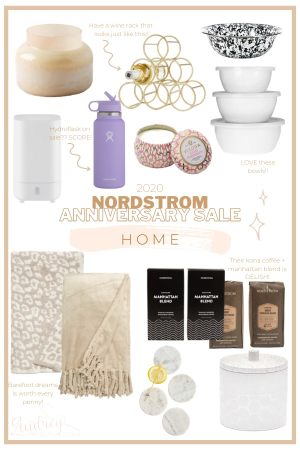 Nordstrom Anniversary Sale Home Picks 2020 + The best items from the NSALE / Audrey Madison Stowe a fashion and lifestyle blogger