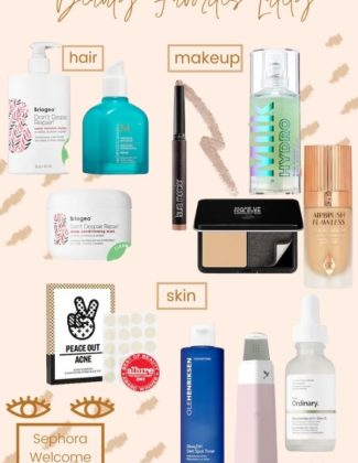 Beauty Favorites Lately   Sephora Summer Sale   Audrey Madison Stowe a Fashion and lifestyle blogger