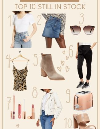 Top 10 Still in Stock at Nordstrom Anniversary Sale | Fall Basics | Audrey Madison Stowe a fashion and lifestyle blogger