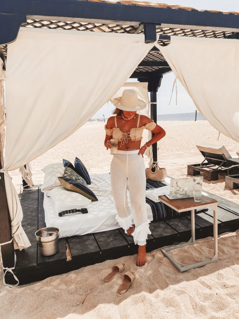 Cabana Style in Cabo San Lucas | Mexico All Inclusive Resort | Audrey Madison Stowe a fashion and lifestyle blogger